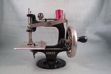 Antique 1914 2nd Model 20 Singer Toy Sewing Machine,TSM,8 Spoke Hand Crank