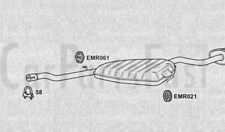 Exhaust Middle & Rear Box Fiat Marea 1.9 Diesel Estate 03/1997 to 02/2001