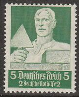 Stamp Germany Mi 558 Sc B61 1934 WW2 War 3rd Reich Professions Mason MNH