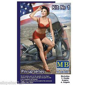 Pin-Up Série, Kit No.1 Marylin, Master Box Figurines 1:24, MB24001