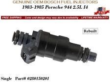 1 Fuel Injector OEM BOSCH for 1983-1985 Porsche 944 2.5L I4 #0280150201