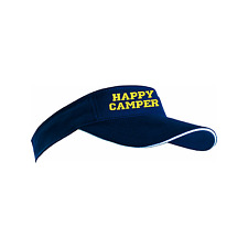 Personalised embroidered Sun Visor cap golf team custom group party name