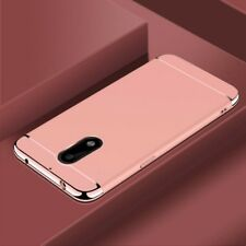Cell Phone Case Protective For Nokia 6 Bumper 3 in 1 Cover Chrome Rose Gold NEW