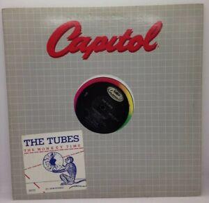 "The Tubes - The Monkey Time 12"" LP Promo DJ Copy 1983 SPRO-9012 Vinyl Single"