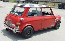 CLASSIC AUSTIN MINI - ROVER MINI ROOF SQUARES BLACK SET