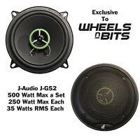 """J-Audio J-GT5 5.25"""" Inch 13cm 130 2Way Car Speaker 210 Watt Each 420 Watt a Set"""