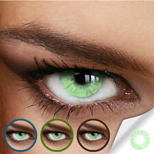 Farbige Kontaktlinsen Naturally Sweet Green (Stärke von +5.00 DPT bis -12.00 DPT