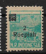 Ned. Indie Repoeblik Indonesia Sumatra Zonnebloem 53
