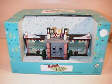 NEW Santa's Workbench Retro Ville BOWLING ALLEY LANES Christmas Village House