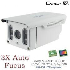 HD TVI Long Range IR Bullet Night Vision camera range upto 395FT 3x Auto Fucus