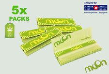 5 Packs - Moon Pure Hemp Rolling Papers -