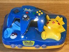 Nintendo 64 Pokemon Pikachu Console System N64 Video Game Japan Import