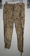 GORE-TEX PANTS TROUSERS USMC DESERT MARPAT CAMOUFLAGE SMALL SHORT S-S