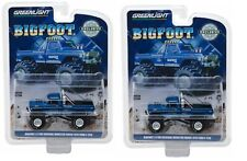 Greenlight Bigfoot The Original Monster Truck 1974 Ford F250 Blue 29934 1/64 Sa1