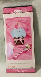 SIZZIX CARD & POCKET CUPCAKE BIGZ DIE EXTRA LONG 656090
