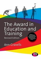 The Award in Education and Training (Further Education and Skills) NEW BOOK