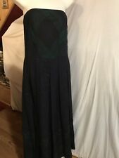 NWT $498 Brooks Brothers Women's Strapless Dress size 6