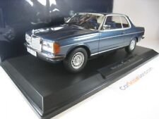 MERCEDES BENZ 280 CE 1980 W123 1/18 NOREV (BLUE METALLIC)