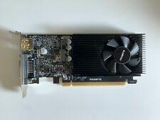 GIGABYTE NVIDIA GeForce GT 1030 LP 2GB GDDR5 Grafikkarte (GV-N1030D5-2GL)
