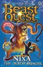 "Nixa the Death Bringer (Beast Quest) Adam Blade ""AS NEW"" Book"