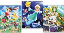 Super Smash Bros 3-Poster Set 1 Club Nintendo -New