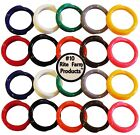 """20 MULTI COLORED #10 LEG BANDS 5/8"""" CHICKEN POULTRY TURKEY QUAIL DUCK GOOSE"""