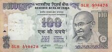 India 100  Rupees  ND.1996  P 91d  Sign.# 87  Series 5LH Circulated Banknote LBi