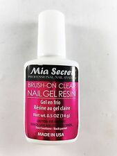 Mia Secret Professional Nail System Brush-on Clear Nail Gel Resin 14g (323)
