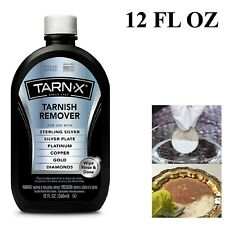 Jewelry Cleaner Tarnish Remover Polishing Cleaning Sterling Silver Gold 12 oz
