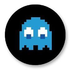 Magnet Aimant Frigo Ø38mm Retro Game Arcade Game Vintage Jeux 80s Pacman Inky