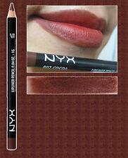 NYX SLIM LIP PENCIL LINER ~ COCOA ~ CHOCOLATE BROWN RED TONES ~ SPL807