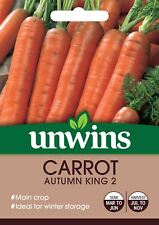Unwins Pictorial Packet - Carrot Autumn King 2 - 1500 Seeds
