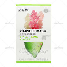 DR.WU FINGER LIME CAVIAR Brightening Tightening Capsule Facial Mask 3pcs