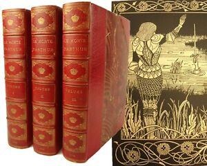 1893 Morte Darthur, Thomas Malory. Superior Copy, 298 of 300. Beardsley. Dent.