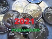 2 EURO 2021 COMMEMORATIVI TUTTI GLI STATI ALLE LÄNDER ITALIA VATICANO MALTA EROI