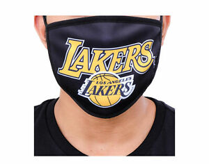 Pro Standard NBA Los Angeles Lakers Face Covering Mask - 2 Pack BLL751489-BLK