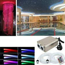 RGB LED Sternenhimmel 780 Lichtfaser Glasfaser Set Sauna Lichttherapie Dimmbar