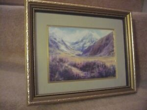 A GAIL BOYLE SIGNED FRAMED ART PRINT A SUPERB PIECE