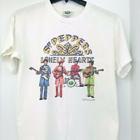 vtg Beatles Sgt Peppers Lonely Hearts Club Band 25TH Anniversary T Shirt Medium
