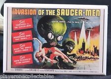 "Invasion of the Saucer-Men Movie Poster  2"" X 3"" Fridge Magnet."