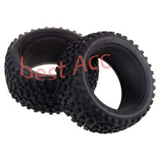 2PCS Rear Tyre Tire 06025P HSP RC Off-Road Buggy 1:10