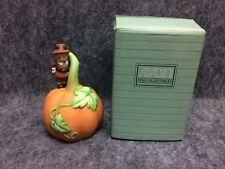 1990 Avon Fine Collectibles Porcelain Bell Giving Thanks New Old Stock In Box
