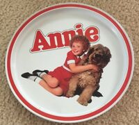 Little Orphan Annie and Sandy 1982 Collector Plate Vintage Rare
