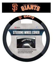 SAN FRANCISCO GIANTS MESH SUEDE CAR AUTO STEERING WHEEL COVER MLB BASEBALL