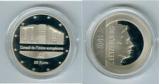 Luxembourg 25 Euro 2005 Présidence de L'Ue Pp Argent