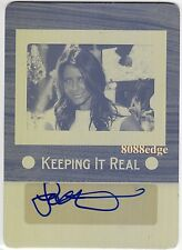 2012 POP CENTURY PRINTING PLATE AUTO:LO BOSWORTH #1/1 of ONE AUTOGRAPH THE HILLS