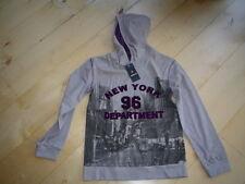 WI 11/12 - Camisa Con Capucha, gris de Mills Tallas gr.152-176