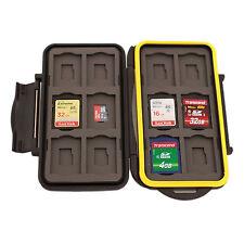 MC-SDMSD24 - Speicherkarten Schutzbox für 12 x SD und 12 x Micro SD Karten