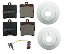 Mercedes W203 C230 C240 02-07 Rear Brake Kit Rotors & Pads + Sensor High Value
