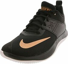Nike Men's Size 14 M Fly.by Low II Basketball Shoes Athletic Sneaker BLACK Gym